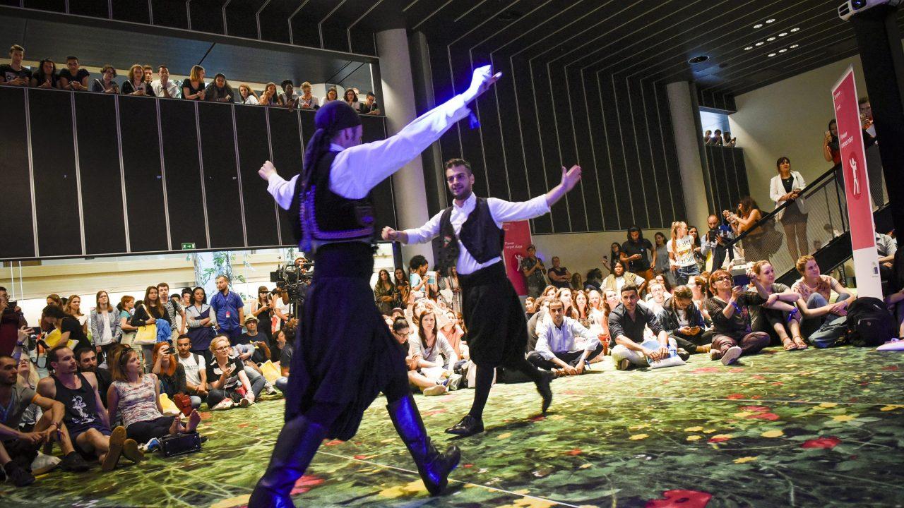 Artistic performances at EYE2018