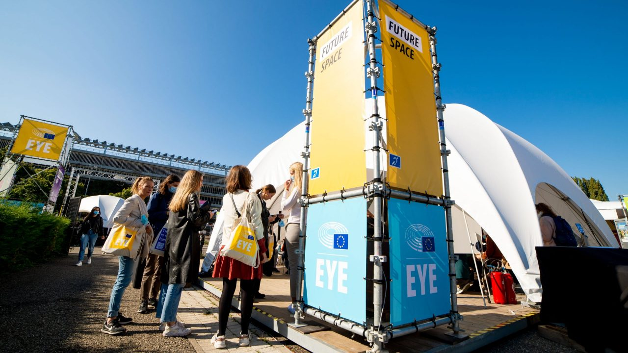 European Youth Event (EYE 2021)- Ambiance shots