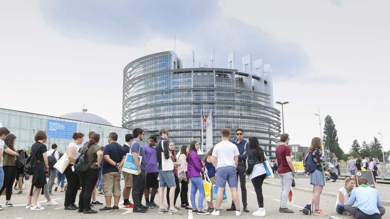 European Youth Event #EYE2018 - Yo!Fest Village, Fair share tent
